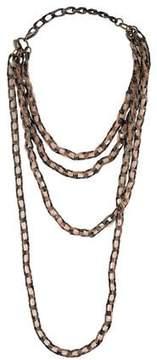 Erickson Beamon Multistrand Woven Tulle Necklace