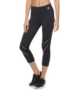 Fila Sport Women's SPORT Racing Reflective Crop Leggings