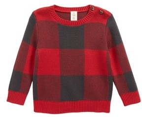 Tucker + Tate Infant Boy's Buffalo Check Sweater