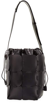 Paco Rabanne 1601 Medium Vegetable-Dyed Leather Hobo Bag