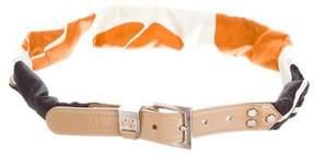 Dolce & Gabbana Silk Printed Belt