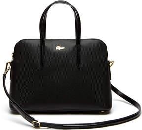Lacoste Women's Chantaco Piqu Leather Bugatti Bag
