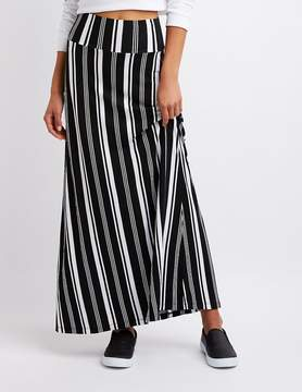 Charlotte Russe Striped Maxi Skirt