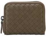 Bottega Veneta Intrecciato Zip-Around Card Case