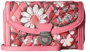 Vera Bradley Ultimate Wristlet Wristlet Handbags - BLUSH PINK - STYLE