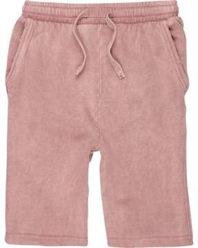 River Island Boys pink washed jersey shorts