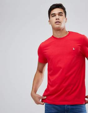 Jack Wills Sandleford T-Shirt In Red