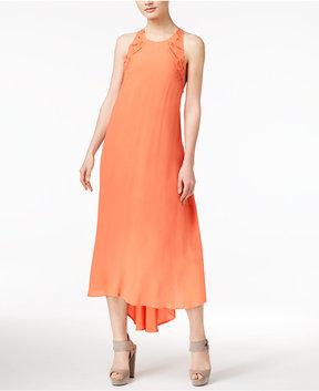 Astr Victoria Asymmetrical Lace-Up Dress