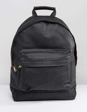 Mi-Pac Mi Pac Perforated Backpack Black