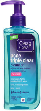Clean & Clear Triple Clear Gel Cleanser
