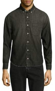 Joe's Jeans Sandoval Distressed Button-Front Shirt