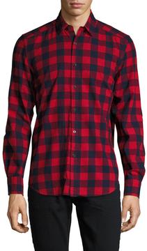 Gilded Age Men's Parker Brushed Flannel Sportshirt
