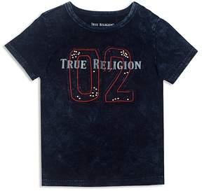 True Religion Boys' Indigo Wash Appliqué Tee - Little Kid, Big Kid