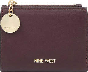 Nine West Slim Wallet With Zipper (Women's)