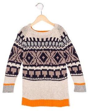 Stella McCartney Boys' Patterned Knit Sweater