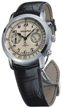 Audemars Piguet Jules Audemars Chronograph 18K White Gold 41mm Watch