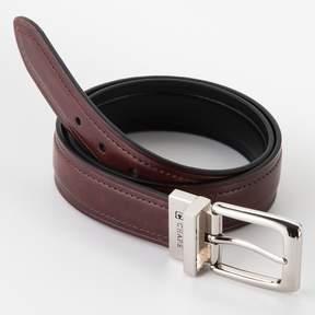 Chaps Reversible Faux-Leather Belt