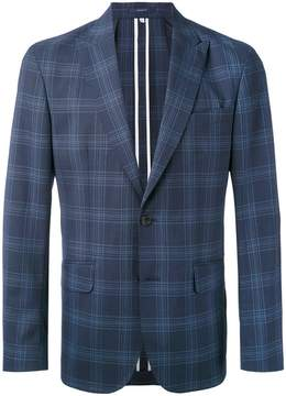 Hardy Amies checked blazer