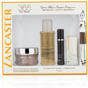 Lancaster 365 Skin Repair Set: Youth Renewal Day Cream 50ml+ Serum Youth Renewal 10ml+ Eye Serum 3ml+ Express Cleanser 100ml
