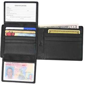 Royce Leather Unisex Rfid Blocking Euro Commuter Wallet 109a-5.
