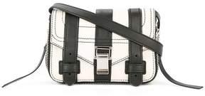 Proenza Schouler Patchwork Stripe PS1+ Mini Crossbody