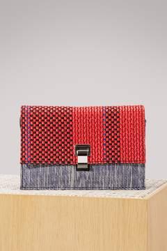 Proenza Schouler Small woven Lunch bag