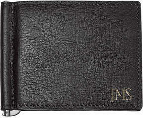 Asstd National Brand Personalized Leather Wallet with Money Clip & Multi-Function Tool