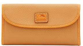 Dooney & Bourke Patterson Leather Continental Clutch Wallet - FAWN - STYLE