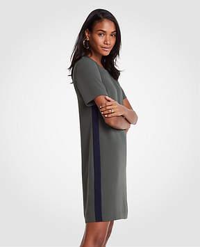 Ann Taylor Striped Side T-Shirt Dress