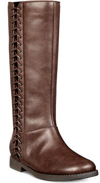 Kenneth Cole New York Kennedy Lace Tall Boots, Toddler, Little Girls (4.5-3) & Big Girls (3.5-7)