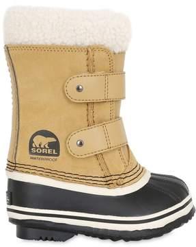 Sorel Waterproof Nubuck Boots