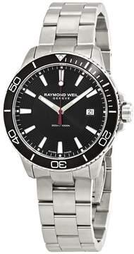 Raymond Weil Tango Black Bezel Men's Watch