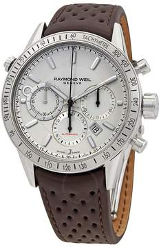 Raymond Weil Freelancer Chronograph Automatic White Dial Men's Watch