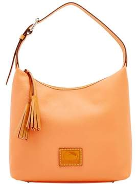 Dooney & Bourke Patterson Leather Paige Sac Shoulder Bag - APRICOT - STYLE