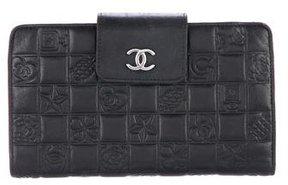 Chanel Precious Symbols French Purse Wallet