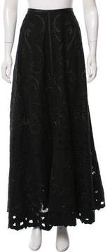 CNC Costume National Wool Midi Skirt
