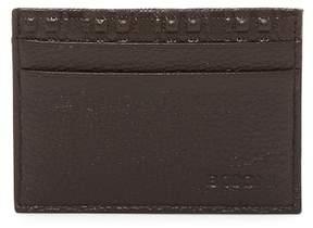 Boconi Leather Cash Stash Card Wallet