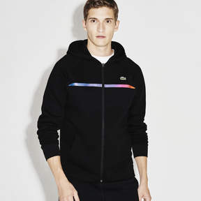 Lacoste Men's Sport Hooded Zippered Tennis Sweatshirt