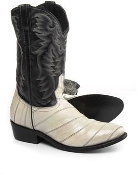 Laredo Marshall Smoke Eel Cowboy Boots - Leather (For Men)