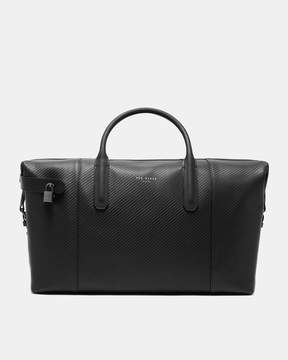 Ted Baker Large woven leather holdall