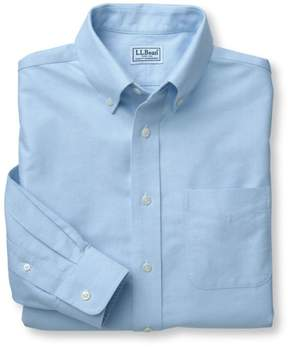 L.L. Bean L.L.Bean Wrinkle-Free Classic Oxford Cloth Shirt, Slightly Fitted