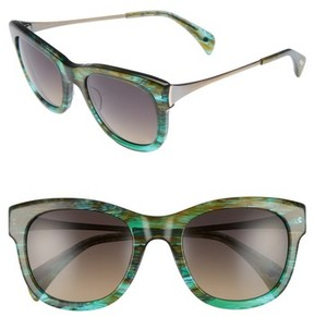 Salt Women's 53Mm Polarized Square Sunglasses - Sandy Sea Green
