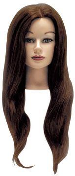 HairArt Elite Manikin with Non-Layered Human Hair