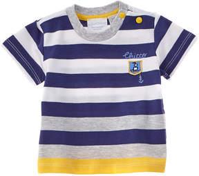 Chicco Boys' Blue Striped T-Shirt
