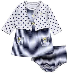 Little Me Daisy Dress with Cardigan (Baby Girls)