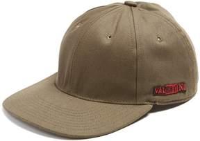 Valentino Logo-embroidered cotton cap