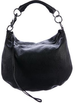 Mulberry Grained Leather Hobo