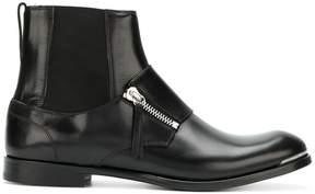 Alexander McQueen zip-detail boots