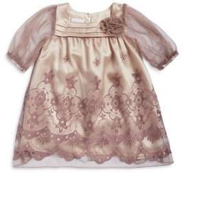 Iris & Ivy Little Girl's Embroidered Dress