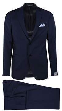Cantarelli Men's 910322582491140 Blue Wool Blazer.